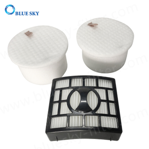 HEPA Replacement Filter Set for Shark Apex Duoclean Vacuum Cleaners
