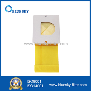 Customized Yellow Paper Dust Filter Bag Replacement for Vacuum Cleaner