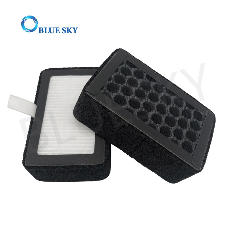 Customized Replacement 3-in-1 Active Carbon True HEPA Filters for SilverOnyx Air Purifiers