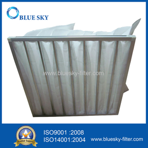 Nonwoven Pocket Bag Filter Dust Collector of G4 Efficiency