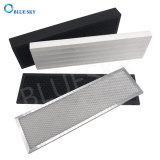 Replacement Air Purifier Filter Element Activated Carbon Pleated HEPA Filters