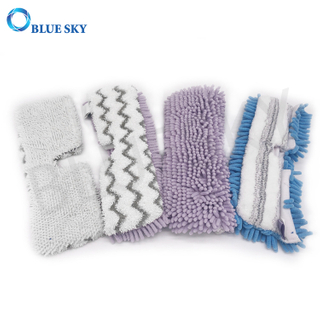 China Supplier Customized Vacuum Cleaner Microfiber Steam Mop Pads
