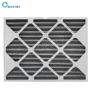 Customized 20X15X1 Merv 8 Carbon Cotton Pleated AC Furnace Air Filters
