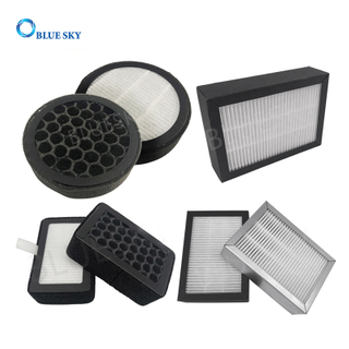 Customized Honeycomb Activated Carbon Mini Pleated HEPA Filters for Air Purifier Accessories
