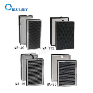 Replacement H13 True HEPA Filters for Medify MA-40 MA-15 Ma-25 MA-112 Air Purifiers