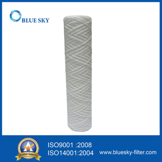 10 Inch 50 Micron String Wound PP Water Filter Cartridge