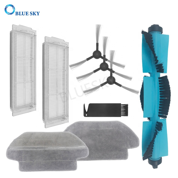 Microfiber Wet & Dry Mop Cloth Replacements for Xiaomi V2 Mijia STYJ02YM Robot Parts