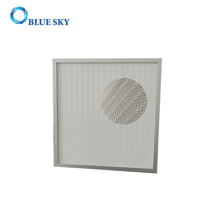 Aluminum Frame Panel HEPA Filter for Heating Ventilation and Conditioning