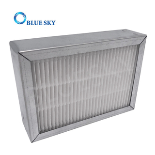 Customized Metal Frame Melt-Blown Mini Pleated Air Purifiers Filters