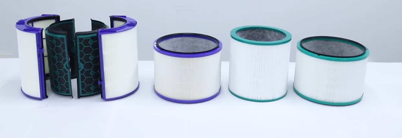 Active Carbon HEPA Filters for Dyson Air Purifier Parts