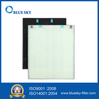Activated Carbon True HEPA Filters for Bissell 2521 Air400 Air Purifiers