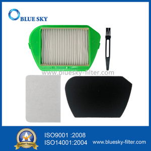 Green H11 HEPA Filter for Rowenta RO535301/4Q0 Vacuum Cleaners