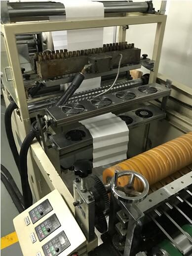 Nanjing Blue Sky Filter Co.,Ltd. has brought in a new pleating machine to expand the production ability