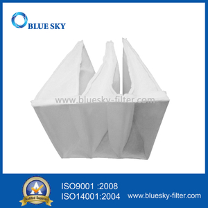 610*610*380mm F5 Efficiency Nonwoven Pocket Filter Bag