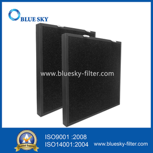 Customized Panel 410x390x33mm Pleated Air Purifier Filters