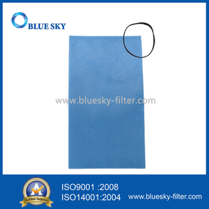 Dry Vacuum Bags Compitiable WORKSHOP WS01025F2 Bag Filter for Shop Vac 2-2.5 Gallon