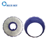 Purple Round HEPA Post-Motor Filters with Cover for Dyson DC50 Vacuum Cleaner