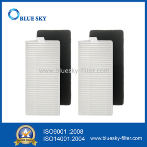 HEPA Filter and Foam Filter for Ecovacs Deebot N79 Robot Vacuum Cleaner