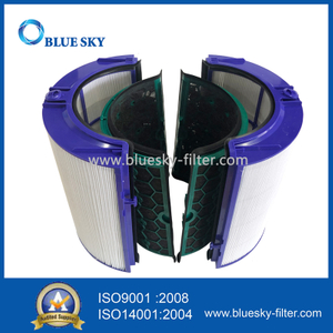 Activated Carbon Cartridge HEPA Filters for Dyson HP04 Air Purifier