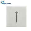 White Square Sponge Foam Scouring Filter Pad for Vacuum Cleaner