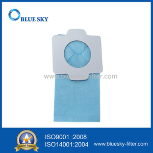 Blue Paper Filter Bag Fits for Makita 194566-1 Vacuum Cleaner