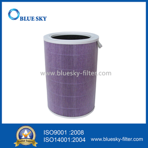 Purple Cartridge HEPA Filter With Activated Carbon for Xiaomi Mi Air Purifier 2S 2 Pro