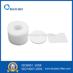 White Foam Filters for Shark NV42 Vacuums Part # XFF36