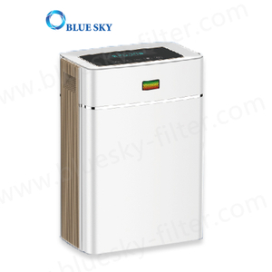 Portable Installation 6 Stages Filtration System Remove Formaldehyde Pm2.5 Voc Smoke Dust Home Ionic Air Purifier Ap-C230A