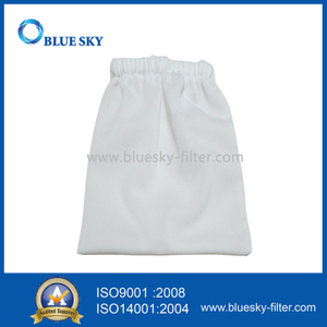 White High Elstic Mesh Cloth Water Filter Bag for Swimming Pool