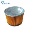 Yellow Medium Efficiency Cylinder Filter / Cartridge Filter / Canister Filter