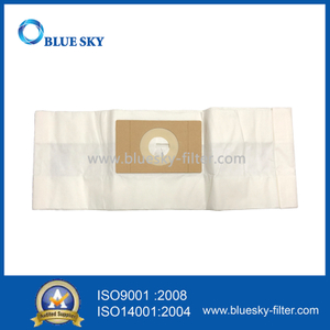 White Paper Dust Filter Bag For Minuteman 10E088 Vacuum Cleaner