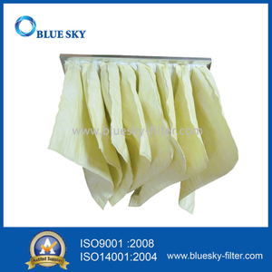 592*592*525mm F7 Efficiency Pocket Air Filter Bags