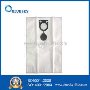 White Non-Woven Filter Dust Bags For Bosch GAS25 Vacuum Cleaners