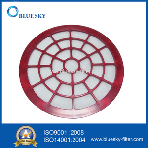 Red Circular HEPA Filter for Vax Vacuum Cleaners