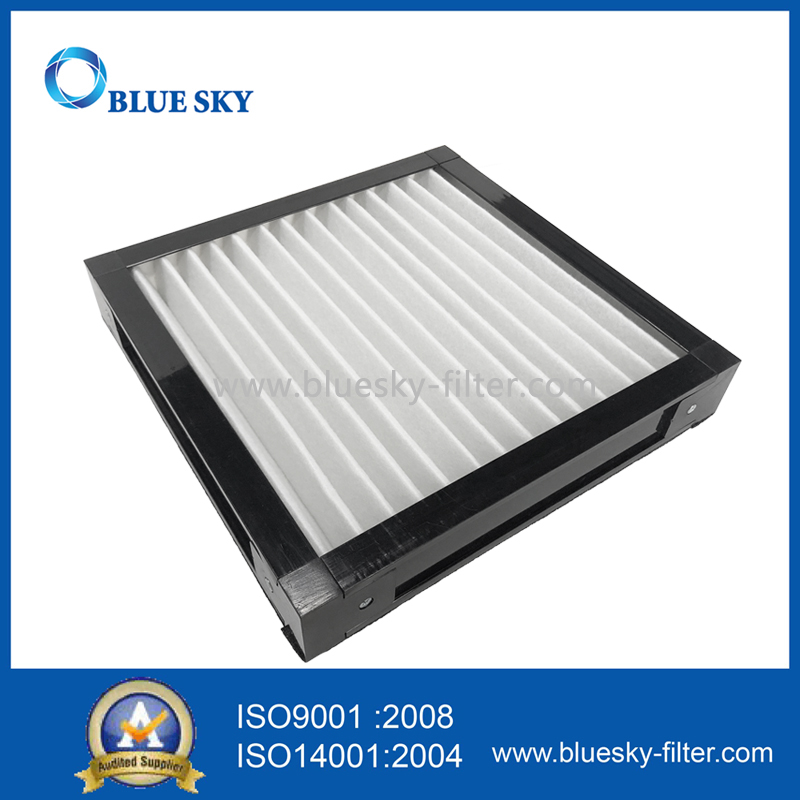 290x290x51mm Customized Plastic Frame Cotton Air Purifier Filters