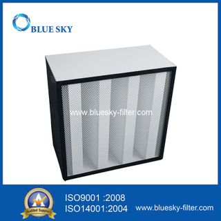 585X585X292mm HVAC Box 99.995% H14 HEPA Air Filters