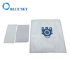 Synthetic Fiber Dust Bags for Miele Gn 9917730 Vacuum Cleaners