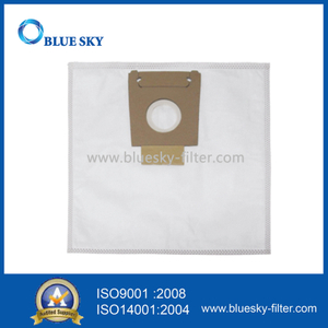 White Non-Woven Dust Filter Bags for Bosch 9050 Vacuum Cleaners