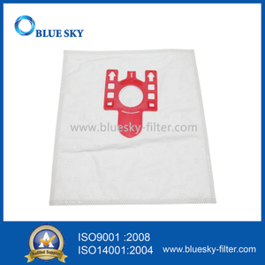 Red Collar Nonwoven Filter Bags for Miele FJM Vacuum Cleaners