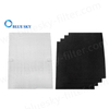H13 True HEPA Filter & 4 Carbon Filter for Winix 115115 Air Purifiers