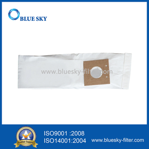 White Paper Dust Bags for Eureka Style U Vacuum Cleaners