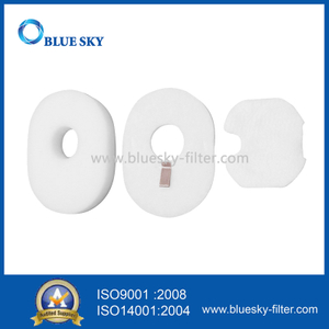 White Foam Filters for Shark Hv300 Vacuums Part # Xffv300